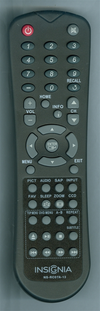 INSIGNIA 90.73T11.001 NS-RC07A-13 Genuine OEM Original Remote