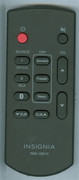 INSIGNIA RMC-SB515 Genuine  OEM Original Remote
