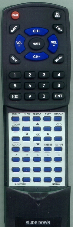 INSIGNIA 301-D42FB6-06 Custom Built Redi Remote