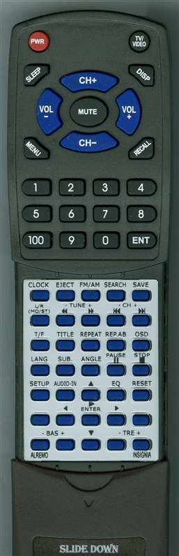 INSIGNIA AL-REMO NSA-1113 Custom Built  Replacement Redi Remote