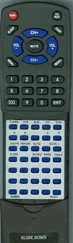 INSIGNIA AV2686800 Custom Built Redi Remote