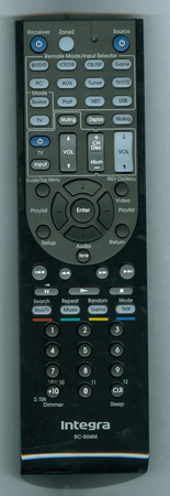 INTEGRA 24140804 RC-804M Genuine OEM original Remote