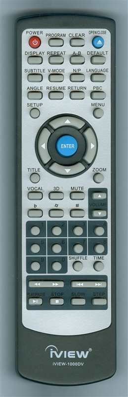 IVIEW 1000DV PINK Genuine OEM Original Remote