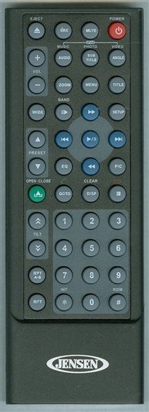 JENSEN 30713620 Genuine OEM Original Remote