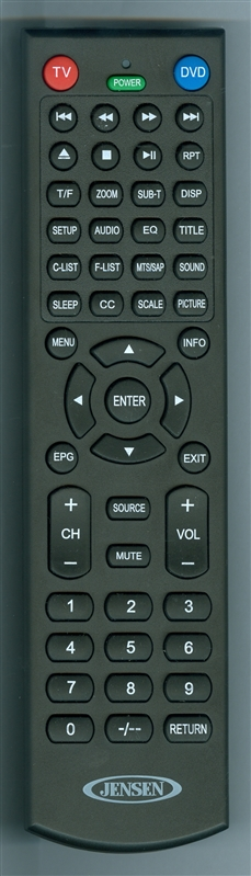 JENSEN PSVCJE2212LED Genuine OEM Original Remote