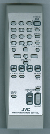 JVC BI600NB5005S RM-SRVNB50 Genuine  OEM Original Remote