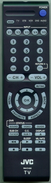 JVC RM-C1450 Genuine  OEM Original Remote