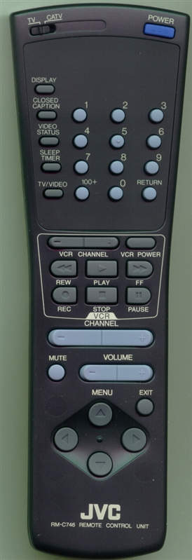 JVC RM-C746-1C RM-C746 Genuine  OEM original Remote