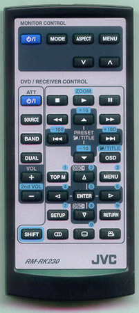 JVC RM-RK230 Genuine OEM Original Remote