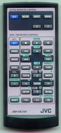 JVC RM-RK240 Genuine OEM Original Remote