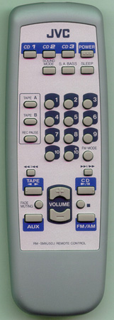 JVC RM-SMXJ50J Genuine  OEM Original Remote
