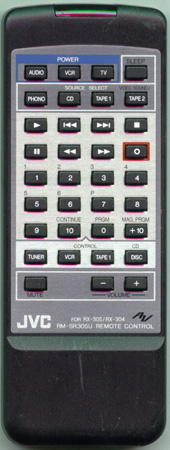 JVC RM-SR305U Genuine  OEM original Remote