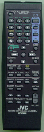 JVC RM-SRX5040J Genuine  OEM original Remote