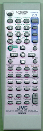 JVC RM-SRX6032J Genuine  OEM original Remote