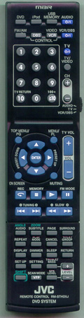 JVC RM-STHD5J Genuine OEM Original Remote
