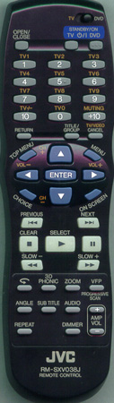 JVC RM-SXV038J Genuine OEM Original Remote