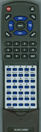 JVC 0980-0306-0050 Custom Built Redi Remote