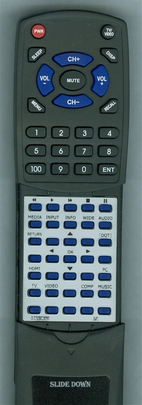 JVC 0980-0306-0012 Custom Built Redi Remote