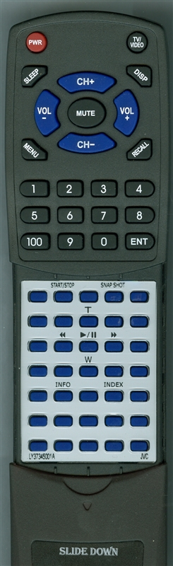 JVC LY37345-001A RMV760U Custom Built Redi Remote