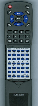 JVC RM-SXV013U Custom Built Redi Remote