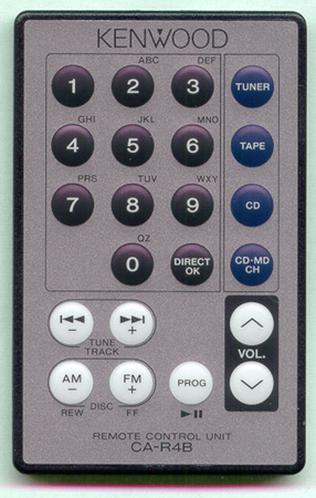 KENWOOD A70-0859-05 CA-R4B Genuine  OEM Original Remote