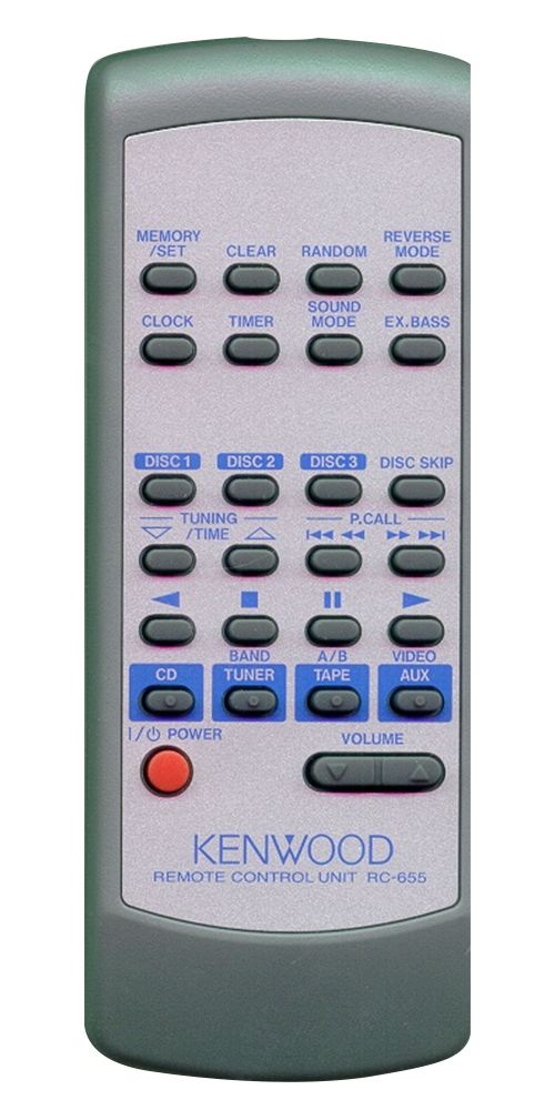 KENWOOD A70-1531-08 RC-655 Genuine  OEM Original Remote