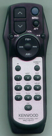 KENWOOD A70-2069-25 RC-517 Genuine OEM original Remote