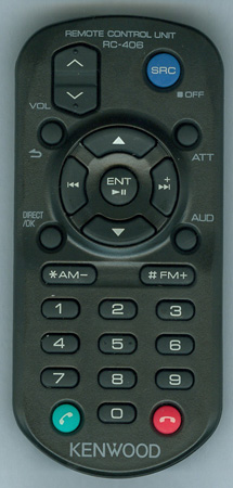 KENWOOD QAL1303-004 RC406 Genuine OEM Original Remote