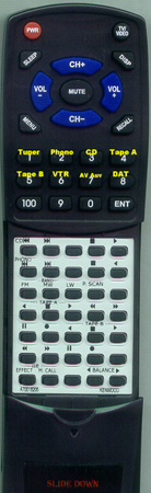 KENWOOD A70-0182-05 RC91 Custom Built Replacement Redi Remote