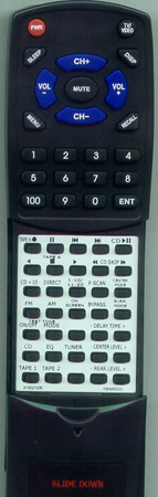 KENWOOD A70-0272-05 RC-9010 Custom Built Redi Remote