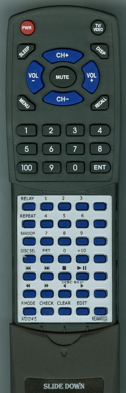 KENWOOD A70-1014-15 RC-P0100 Custom Built Redi Remote