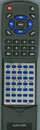 KENWOOD A70-1154-05 RC-SE9 Custom Built Redi Remote