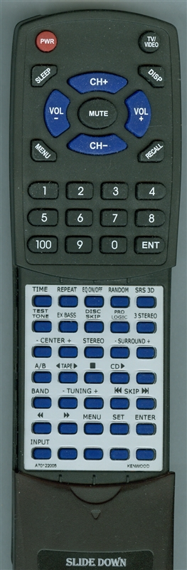 KENWOOD A70-1220-05 RC951 Custom Built Redi Remote