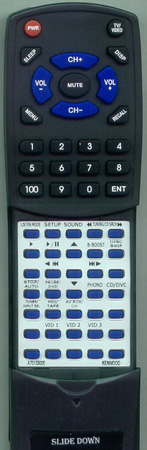 KENWOOD A70-1330-05 RC-R0609 Custom Built Redi Remote