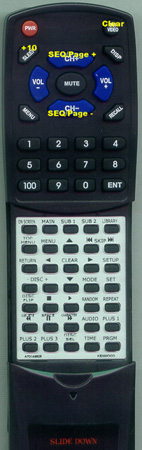 KENWOOD A70-1488-05 RCD0513 Custom Built Redi Remote