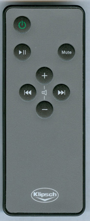 KLIPSCH 1007524 Genuine OEM Original Remote