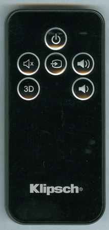 Klipsch Soundbar Replacement Remote Control: 1015073
