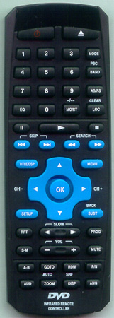 LANZAR SDBT75N Genuine OEM Original Remote
