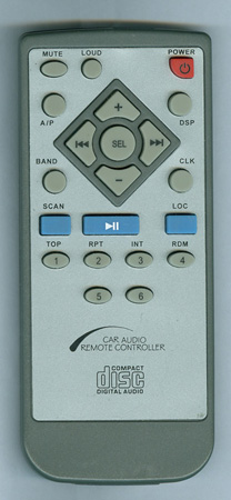 LANZAR VBD700 Genuine OEM Original Remote