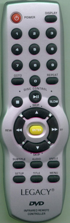 LEGACY LDVD35 Genuine OEM original Remote
