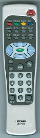 LEXIUM DBS7000 Genuine  OEM Original Remote