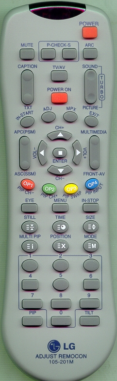 LG 105-201M Genuine  OEM Original Remote
