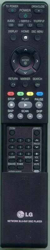 LG AKB68183605 AKB68183605 Genuine OEM Original Remote