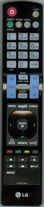 LG AKB72914002 Genuine OEM Original Remote