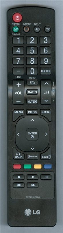 LG AKB72915206 Genuine  OEM Original Remote