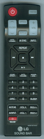 LG AKB73575421 Genuine OEM Original Remote
