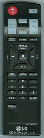 LG AKB73655702 Genuine OEM Original Remote