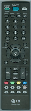 LG AKB73655808 Genuine  OEM original Remote