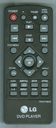 LG COV31736202 Genuine OEM Original Remote