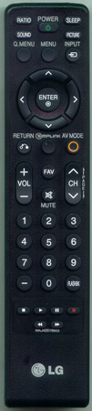 LG MKJ42519603 Genuine  OEM original Remote